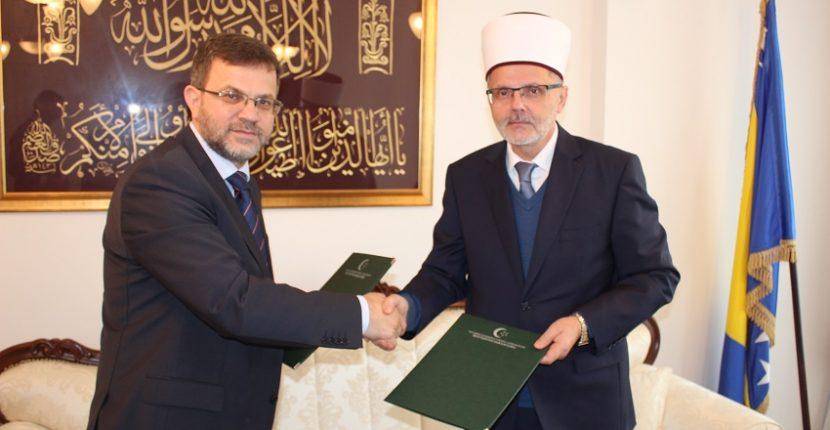 Muftijstvo sarajevsko i Centar za dijalog – Vesatijja potpisali sporazum o saradnji