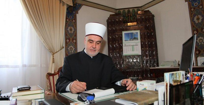 Reisu-l-ulema uputio čestitku mitropolitu Hrizostomu povodom hrišćanskog praznika Vaskrsa