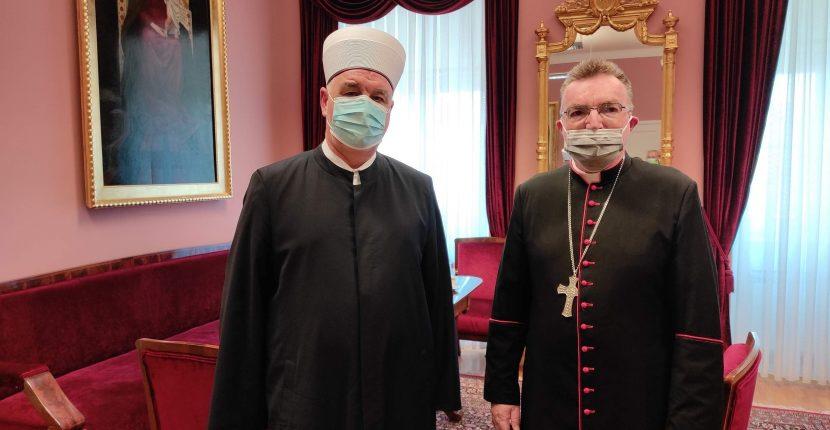 Sastanak reisu-l-uleme Kavazovića i kardinala Bozanića
